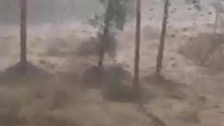 Смотреть онлайн Наводнение в Бурятии 28.06.2014