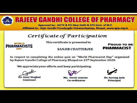 Free Online Pharmacy Certificate - YouTube