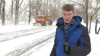 Уборка снега в Абакане - Абакан 24
