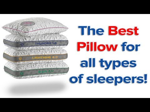 The Best Pillow for all types of sleepers!