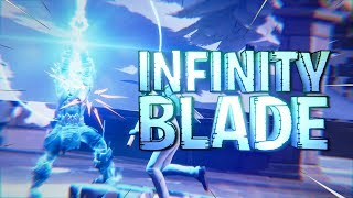 *NEW* Fortnite INFINITY BLADE Gameplay (Ice Sword)