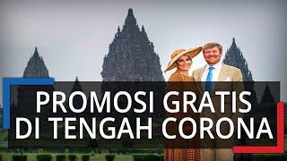 Raja dan Ratu Belanda Kunjungi Candi Prambanan, Jadi Promosi Pariwisata di Tengah Isu Corona