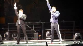 98 Degrees - Una Noche / Girls Night Out - Boston Garden 6/2/13