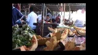 preview picture of video 'Mauritius Kochen im Kolonialhaus Eureka einkauf Markt Kreuzfahrten Fotos Hubert Fella 09732-2600'