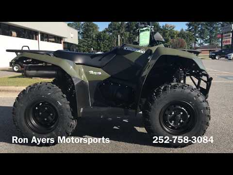 2018 Suzuki KingQuad 400ASi in Greenville, North Carolina - Video 1