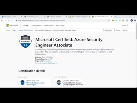 How I passed AZ-500 Exam | Microsoft Certified: Azure Security ...