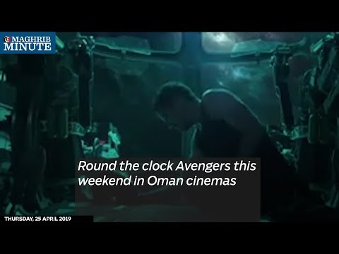 Round the clock Avengers this weekend in Oman cinemas