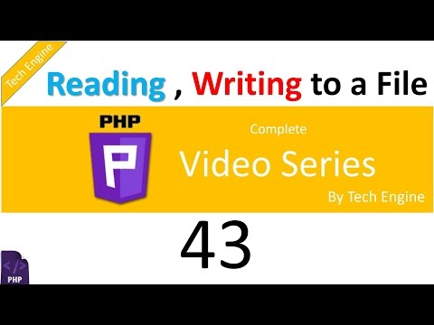 Coding In Php (Hindi) - 42. How To Read And Write To A Txt File. Mp3