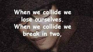 collide - dishwalla  lyrics