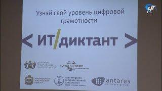 Новгородцы впервые написали IT-диктант приуроченный ко дню программиста