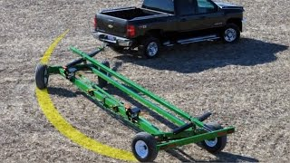 All Wheel Steer Fieldrunner Header Transport