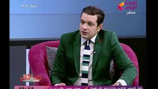 فنانة شهيرة تساند عبدالله السعيد بارتداء تي شيرت اللاعب على الهواء