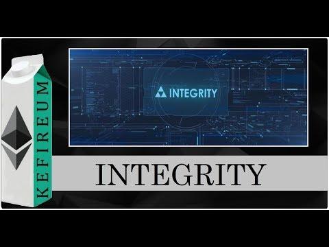 INTEGRITY - Блокчейн-платформа для расширения возможностей малого бизнеса