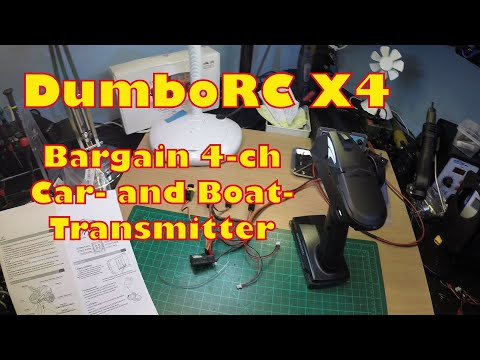 DumboRC X4 Unboxing and Quick First Test