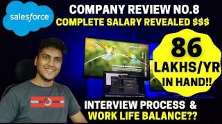 Salesforce India Engineer Salary Revealed | Salary Break Up | Company Review