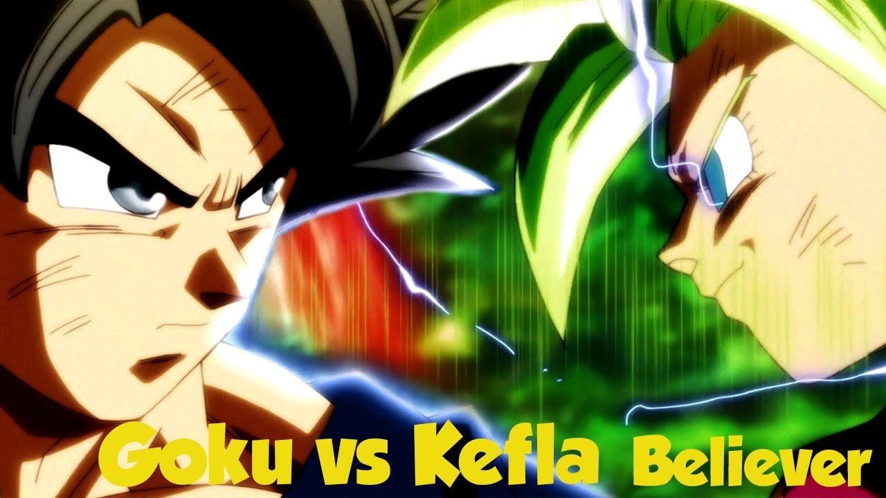 Goku Ultra Instinto Vs Kefla「AMV」- Believer