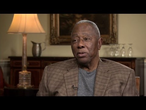 Hank Aaron on breaking barriers at bat