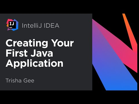 Creating your first Java application with IntelliJ IDEA