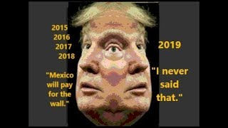 """Trump Says He Didn't Say """"Mexico Will Write Check For Wall""""- BUT HE DID"""