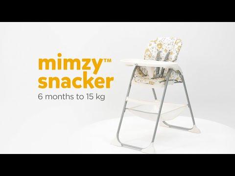 Silla de comer Mimzy Snacker Joie Alphabet video