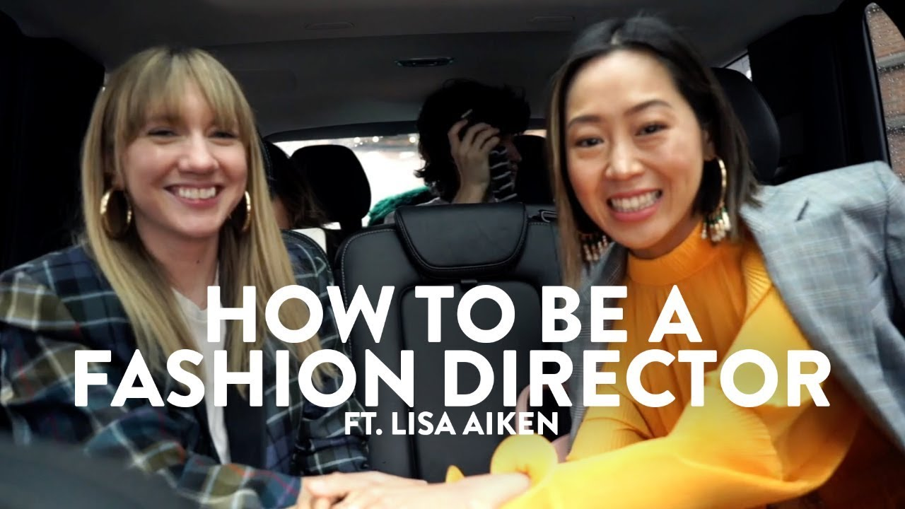 How to be a fashion director - Interview w/ Lisa Aiken | Aimee Song