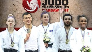 European Judo Championships Warsaw 2017: Highlights day 1
