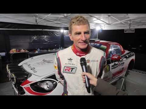 Andrea Nucita and Dariusz Polonski - Abarth 124 rally - Interview