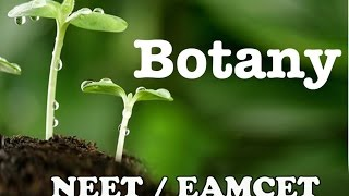 BOTANY || CELL STRUCTURE&FUNCTION -1 || D SRIKANTH
