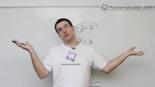 Math Myth Busters EP 01 - Převádění z jedné strany rovnice na druhou
