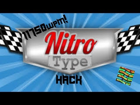 How To Hack Nitrotype!