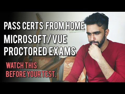 MS Certification at Home | Online Proctored Exam Tips | Pearson ...