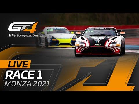 ブランパンGT 2021 モンツァ GT4 レース1動画