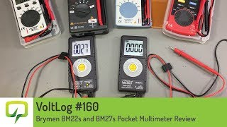 Brymen BM319s Automotive meter multimeter review testing
