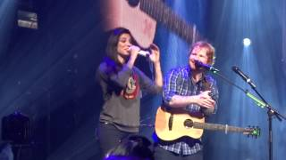 Ed Sheeran & Christina Perri - Be My Forever 9-8-15 X Tour Orlando, FL