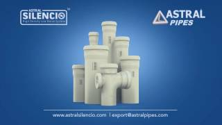 How Astral Silencio is a superior choice compared to PVC pipes.