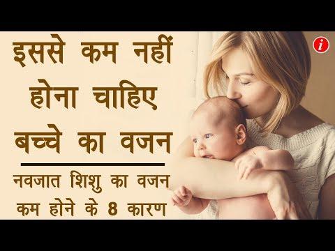 Normal Weight of New Born Baby in India - नवजात शिशु का वज़न कितना होना चाहिए | Right Weight Baby