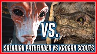 Mass Effect ANDROMEDA Choice: Salarian Pathfinder VS Krogan Scouts + Drack's Reaction