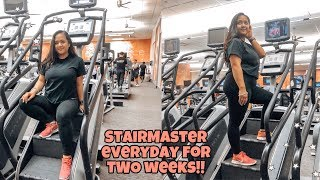 I Did The StairMaster Everyday For TWO Weeks!! | Before and After Results
