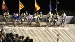 preview picture of video 'Copa España BMX 16-03-13, Terrassa, FINAL sénior 17 -29 años'