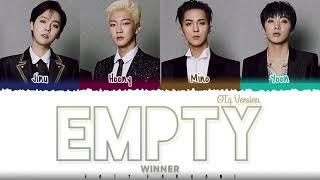 WINNER – 'EMPTY' [4 Ver.] Lyrics [Color   - YouTube
