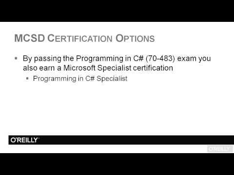 Programming in Microsoft C# - Exam 70-483 Tutorial | MCSD ...