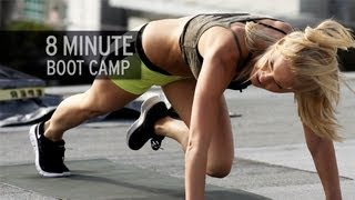 8-Minute Boot Camp Workout by XHIT Daily
