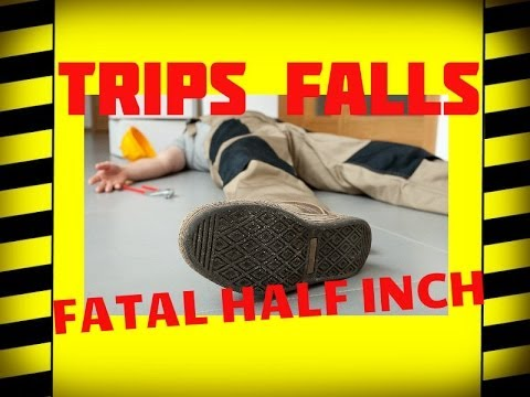 Slips, Trips & Falls - The Fatal Half Inch - Safety Training Video