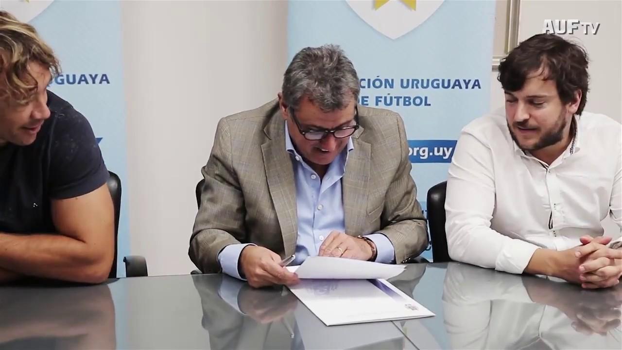 Firma de convenio entre AUF y Fundación Celeste