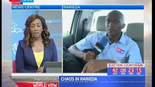 Governor Cornel Rasanga's supporters clash with Nicholas Gumbo ahead of Raila's campaigns