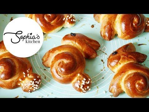 EASTER BUNNY BUNS!! Thermomix Bread Rolls Recipe   Sophia's Kitchen