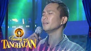 Tawag Ng Tanghalan:  Eric Ben | Please Don't Ask Me