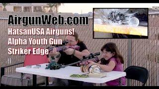 HatsanUSA Alpha & Striker Edge In Muddy Girl Camo - By Airgun Expert Rick Eutsler / AirgunWeb