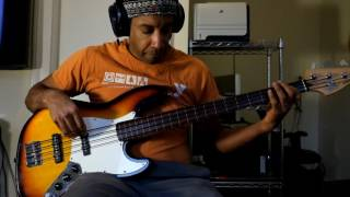 Don't Let Me Lose This Dream (Aretha Franklin) bass cover