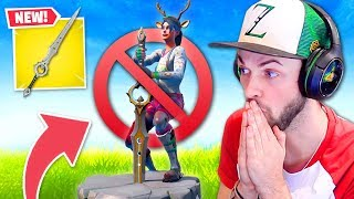 *NEW* SWORD in Fortnite is BROKEN!